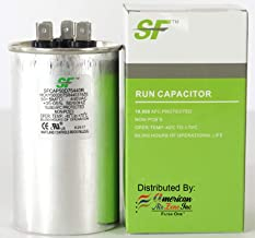 TRANE SF 50+5 MFD μF (MicroFarad) 370/440 Volts Dual Run Capacitor-Round (2-Pack) for AC Motors, Fans or AC Compressors (Replaces other Brands Capacitors)