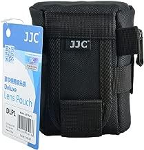JJC 78x125mm Deluxe Lens Pouch for Sony 18-55mm SEL1855 SAL1855 Canon EF 28mm 50mm EF-S 10-18mm EF-M 18-55mm Nikon Nikkor 18-55mm Fujifilm Fujinon XF 18-55mm XC 16-50mm Olympus Zuiko Digital 14-42mm