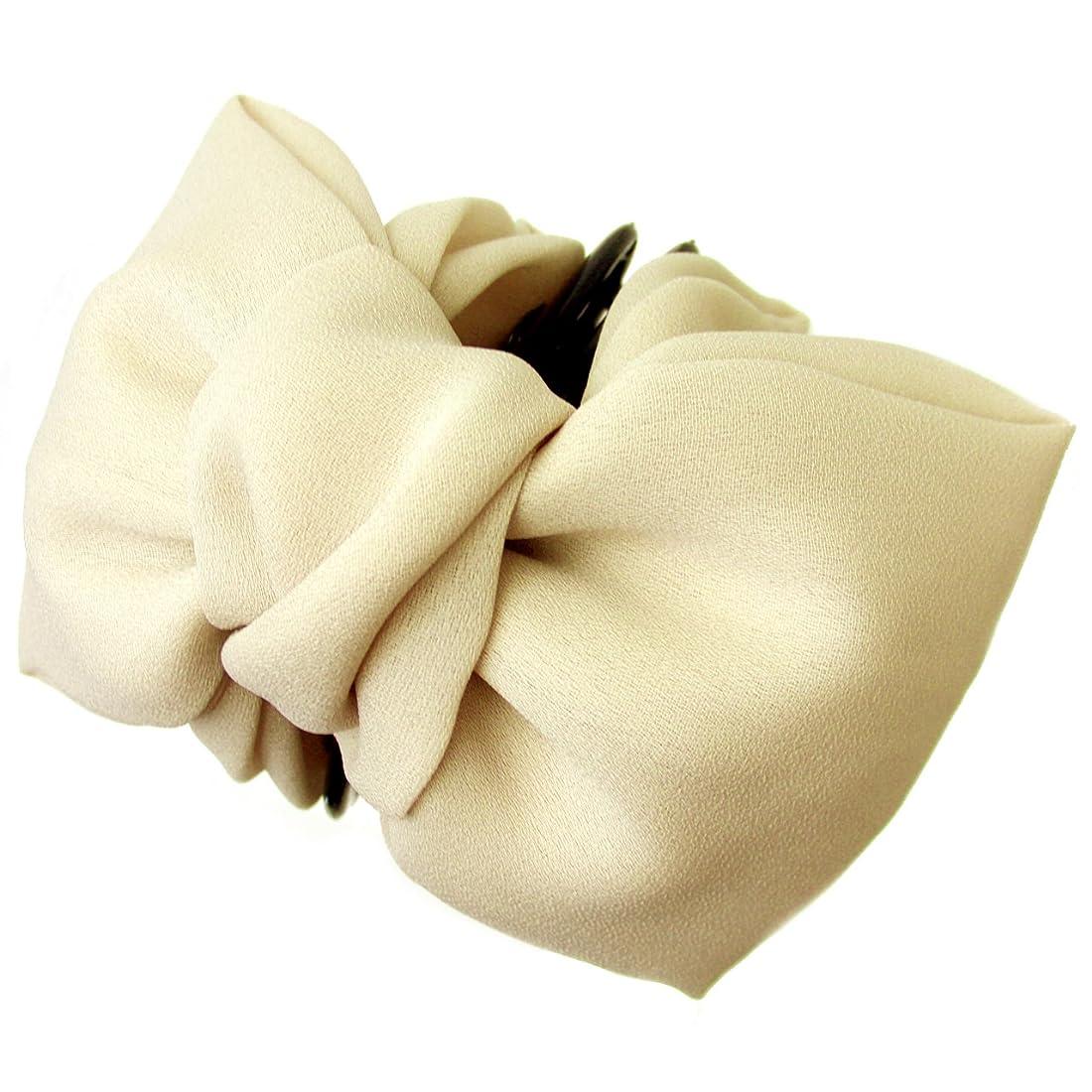 整理する高くシャワーhaclm500nnnbe ヘアアクセサリー 髪飾り (リトルムーン) バンスクリップ ブランダ ベージュ