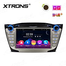 XTRONS 7 Inch Android 8.1 Octa Core HD Digital Multi-Touch Screen WiFi Video Car DVD Player Custom Fit for Hyundai Tucson IX35