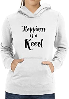 Eddany Happiness is a Reed Women Hoodie