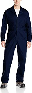 Red Kap Men's Button-Front Cotton Coverall
