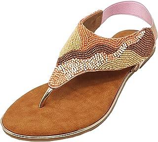 Lazera Womens Sandal Flat Style Sultan
