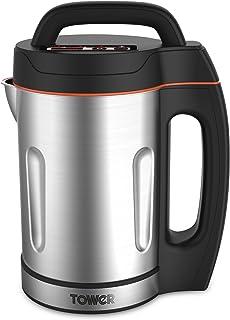 Tower T12031 Machine à soupe avec pichet et lame en acier inoxydable, panneau LED, système de contrôle intelligent, 1000 W...