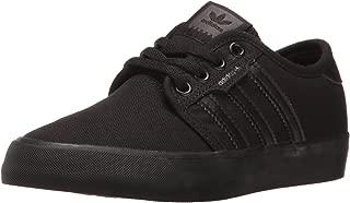 adidas Unisex-Child Boys CDK79 Seeley J Black Size: 3 Big Kid
