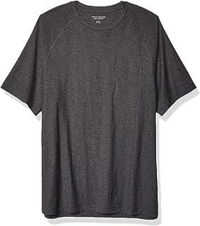 Men's Regular-fit Slub Raglan Crew T-Shirt