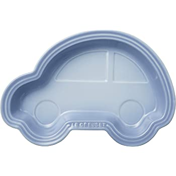 ル・クルーゼ(Le Creuset)  皿 ベビー・ランチプレート (クルマ)  コースタルブルー 耐熱 耐冷 電子レンジ オーブン 対応  【日本正規販売品】