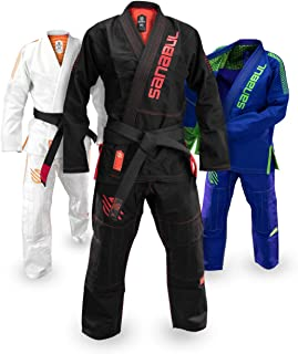Sanabul Highlights Professional Competition BJJ Jiu Jitsu Gi IBJJF Approved See Special Sizing Guide
