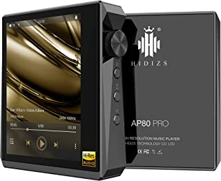 HIDIZS AP80 PRO MP3 Player with Bluetooth, High Resolution Lossless Music Player with LDAC/aptX/FLAC/Hi-Res Audio/FM Radi...