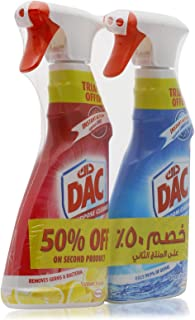 Dac Triggers Dac All Purpose Cleaner - Lemon Fesh 500ml + Ocean Breeze 500ml
