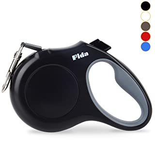 Fida Retractable Dog Leash, 16ft Heavy Duty Pet Walking Leash for X-Small/Small/Medium/Large Dog or Cat up to 110 lbs, Tangle Free. One-Hand Brake