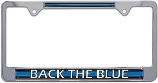 illinois police license plate frame