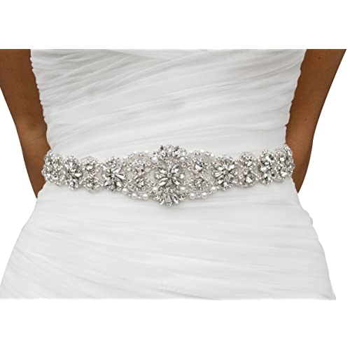 Rhinestone Belts For Dresses Amazon Com