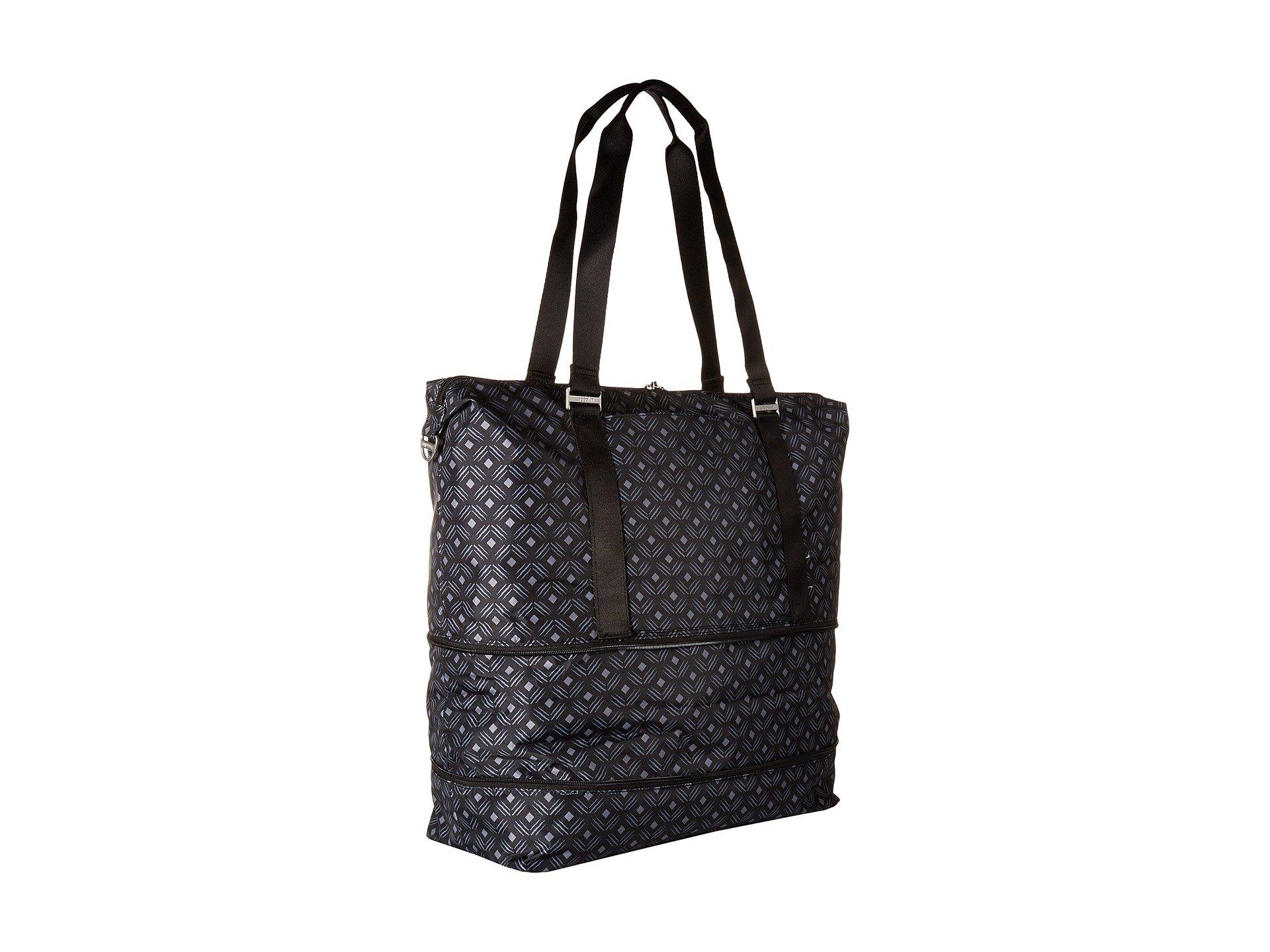 Expandable On Duffel Print Diamond Baggallini Multi Black Carry pAqZ4w4nPx