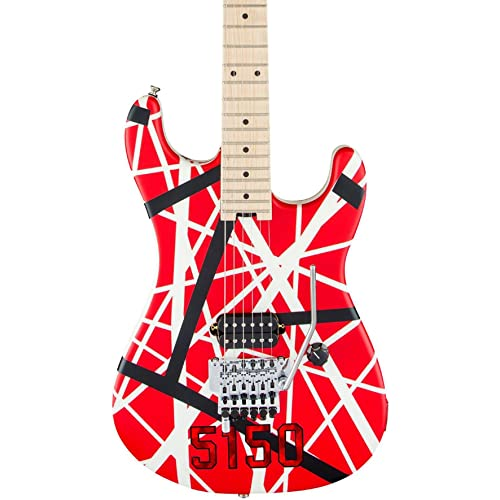 19a140fbeb77 EVH Striped Series 5150 - Red