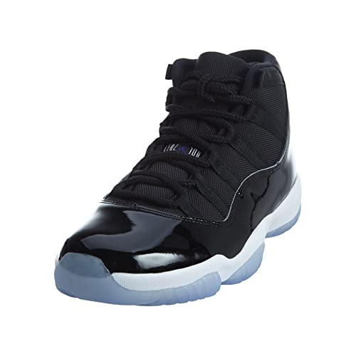 6baf9508b16f Nike Mens Air Jordan 11 Retro Space Jam Black Concord-White Leather Size 12