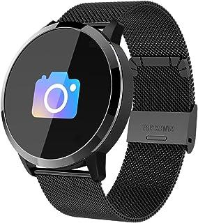 Smartwatch, Reloj Inteligente Bluetooth Smart Watch Hombres Mujeres Niños IP67 Impermeable Deportes Fitness Tracker,Pulsómetro,Recordatorio de llamada, Podómetro,SMS,Pulsera para Android y iOS (Negro)