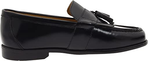 Black Smooth Leather