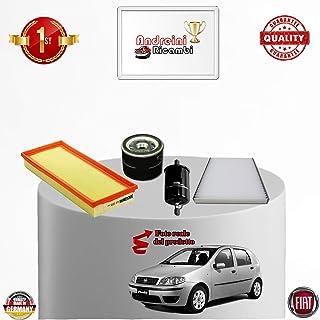 Kit de revisión de 4 filtros Punto II 1.2 8 V GLP 44 kW 60 CV desde 2007 – >