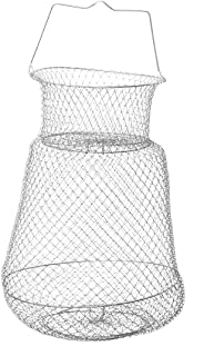 LIOOBO 30cm Agujero de Malla Plegable Cangrejo Langosta Red de Pesca Red de Pesca Accesorios de Pesca