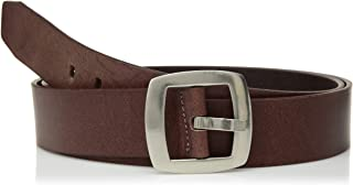 Women's Smooth Matte Leather Belt