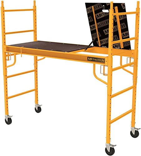 popular MetalTech Safeclimb Baker Style 6 ft. x 6 ft. lowest x 2-1/2 ft. outlet sale Scaffold 1100 lbs. Capacity online