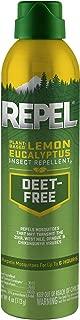 Repel Lemon AEROSOL Eucalyptus Insect Repellent, 4 oz + 2 BONUS Wipes