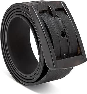 Black MiDezigns Airport Friendly Metal Free Nylon Tactical Office Work Belt for Men /& Women
