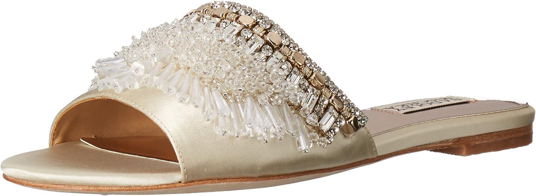 Badgley Mischka Women's Kassandra Embellished Slides