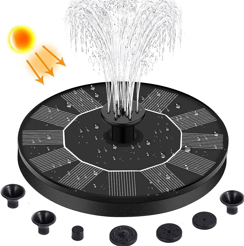 In a popularity Solar Bird Bath 2021 new Fountain Bird-Bath Pump with for