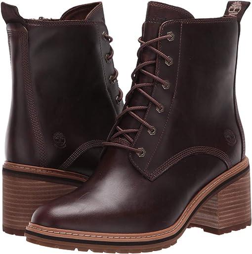Dark Brown Full Grain Leather