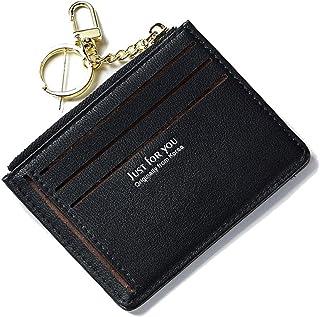 41013c6492 Porta carte di credito Pelle per Uomo Donna Portafogli tessere slim  tascabile,Porta Monete Sottili