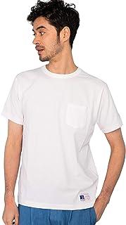 [グリーンレーベルリラクシング] RUSSELL ラッセルアスレチック 【WEB限定】SC★★ ムジ ポケットTシャツ 32174994708 メンズ