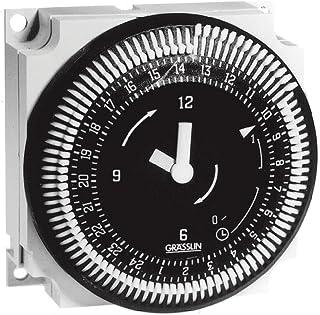 Grasslin by Intermatic FM1STUZ-24U 24-Hour 21A, SPDT, 24V Electromechanical Timer Module