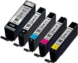 Canon Cartucho de tinta original para PGI570 PGI 570 PGI-570 para Canon Pixma MG 7752 TS 6052, color negro, embalaje neutro, cantidad de relleno: aprox. 15 ml, color (07) 5x Tintenpatrone - BK, PBK, Cy, Ma, Ye