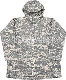 ORC US Army Military Improved ACU Rainsuit Wet Weather Rain Jacket Parka Coat