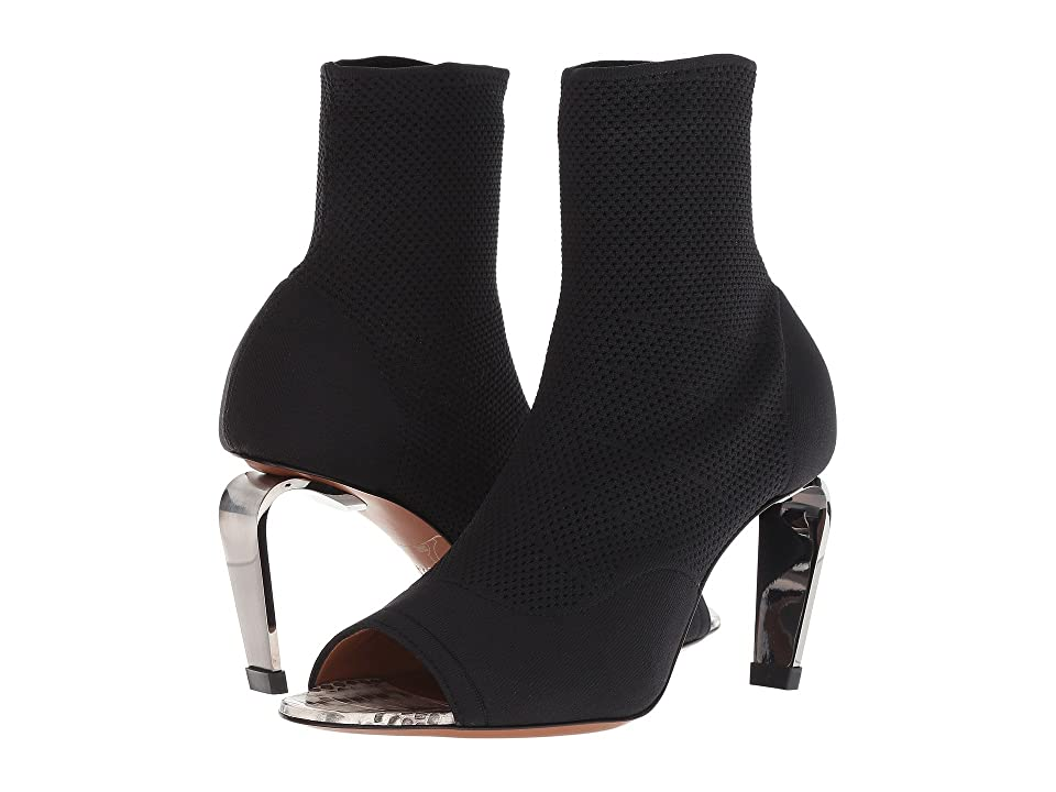 Clergerie Mabelaw (Black Stretch Fabric) High Heels