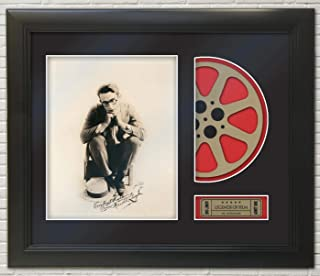 Harold Lloyd Framed Reproduction Signature Photo Reel Display