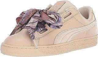 PUMA 女士 Basket Heart 运动鞋