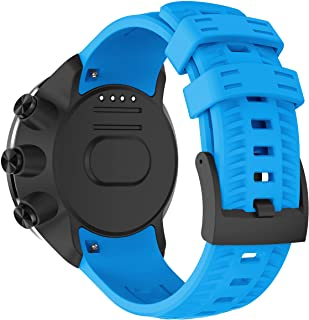 Compatible with Suunto Spartan Sport Wrist hr Baro Strap/Suunto 9 Baro Bands, Sport Replacement Watch Band Stylish Soft Si...