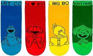 Sesame Street Sesame Street Ankle Socks 4-pack Unisex by Out of Print