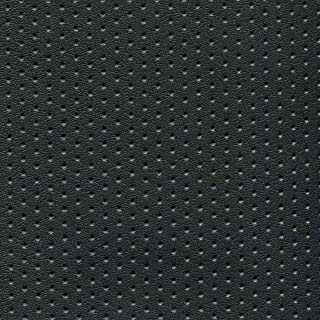 Vinyl Upholstery Fabric Perforated Black 54