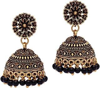 e2abfabc6 Black Women's Earrings: Buy Black Women's Earrings online at best ...
