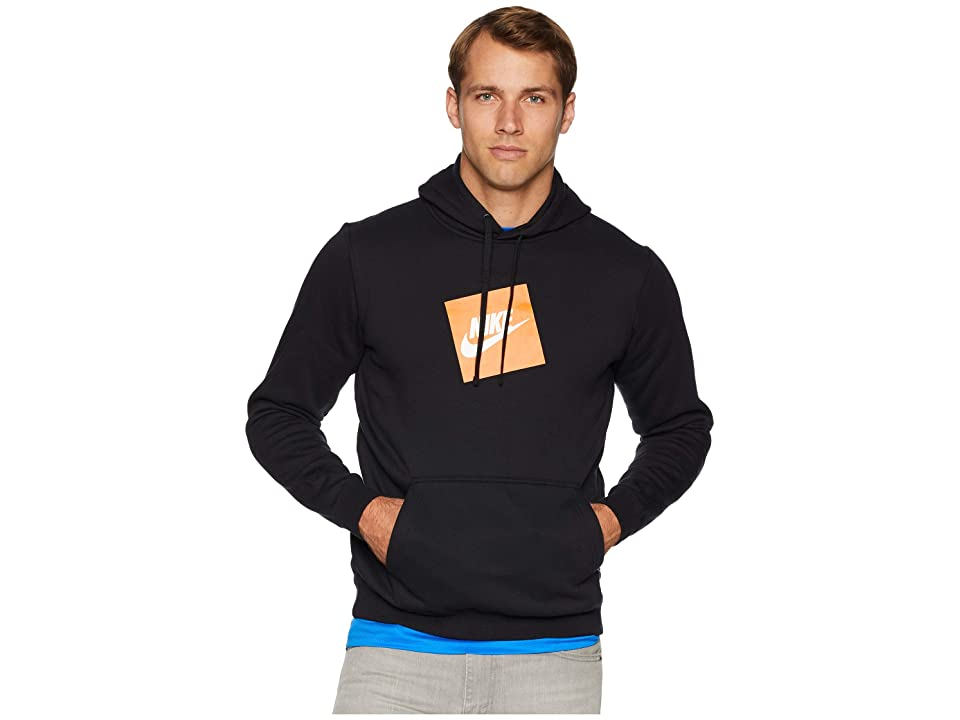 Nike NSW Hybrid Hoodie Pullover Fleece (Black) Men