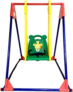 BJW Infant to Toddler Indoor Swings with Giraffe Design