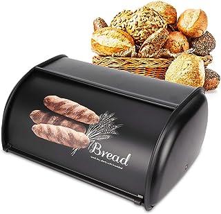 Boîte à pain Durable en utilisation Boîte de rangement de pain pratique Organisateur de rangement de cuisine pour cuisiner...