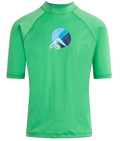 Kanu Surf Paradise Upf 50+ Short Sleeve Sun Protective Rashguard Swim Shirt