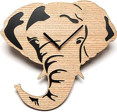 Amazon.com: Deco Flair Hope Magnet Clock, Wood: Home & Kitchen