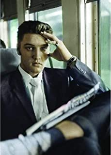 Elvis Presley 3D Poster Wall Art Decor Print | 11.8 x 15.7 | Lenticular Posters & Pictures | Memorabilia Gifts for Guys & Girls Bedroom | Vintage King of Rock CD Vinyl Cover Art - Greatest Hits Photo