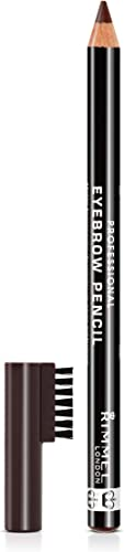 Rimmel London Professional Eyebrow Pencil, Dark Brown 1.4g
